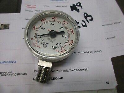 2 X 200 Psi Welding Regulator Repair Replacement Gauge For Oxygen 14 18 Rub