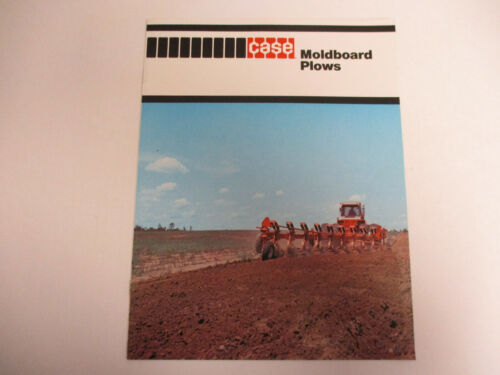 Case Moldboard Plows Sales Brochure   !