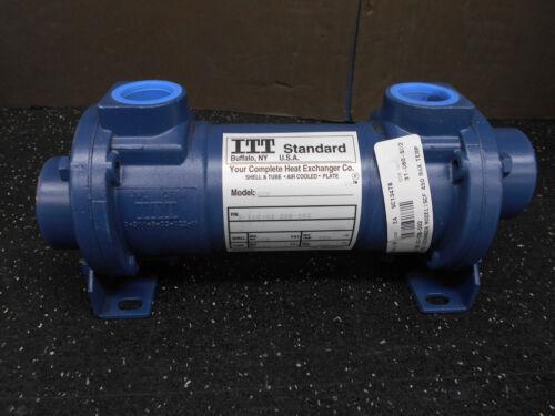 ITT STANDARD 5-160-03-008-002 HEAT EXCHANGER MODEL SCF 450°F MAX TEMP