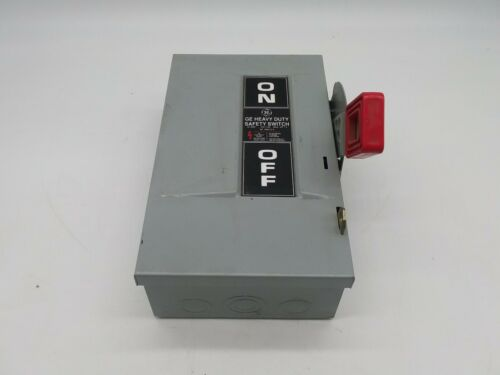 GE TH4321 Heavy Duty Fusible Safety Switch