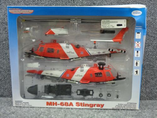 New Quick Builder Testors MH-68A Stingray US Coast Guard Helicopter 1:48 Scale