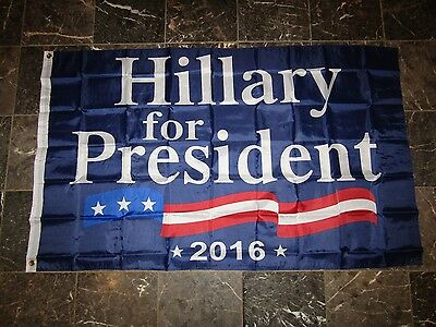 Wholesale Lot 20 3x5 Hillary Clinton For President 2016 Flag 3'x5'