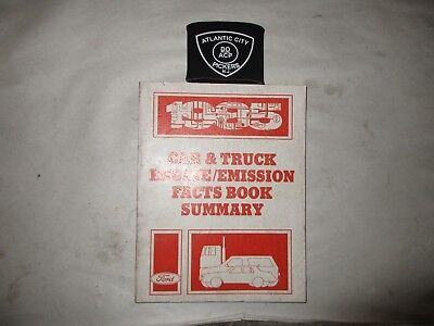 1985 Ford Car   Truck Engine   Emissions Facts Book Summary Manual