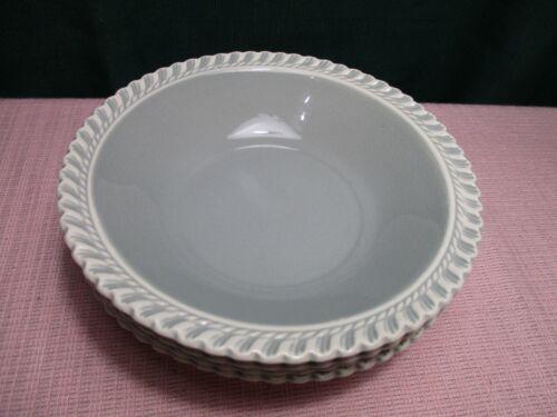 """Harker Chesterton Gray light Bowl Cereal (4) 6"""""""""""