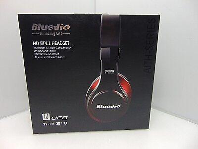 Bluedio U (UFO) PPS 8 Drivers Over-ear Bluetooth Wireless Headphone Black/Red