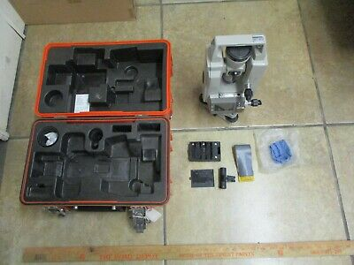 Sokkisha Lietz Dt5 Theodolite Dt5dt5s With Case Used Sold As Is