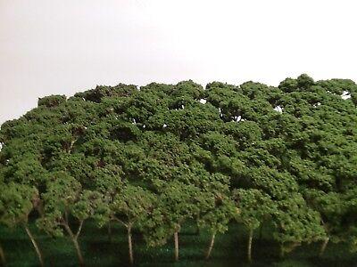 50 NEW HANDMADE Z SCALE TREES FOR TRAIN LAYOUT DIORAMA N HO S O & FAIRY LAND ()