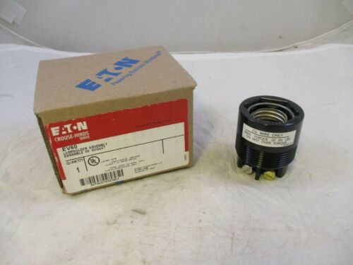 EATON CROUSE HINDS EV60 MEDIUM LAMPHOLDER ASSEMBLY 600V 600W