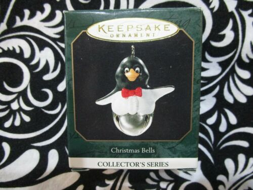 1999 CHRISTMAS MINIATURE ORNAMENT CHRISTMAS BELLS #5 IN SERIES T3115