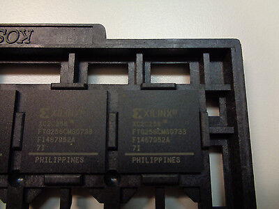 Xilinx Xc2c256 Coolrunner Ii Cpld Bga 4 Piece Lot    Xc2c256 7Ftg256i  New