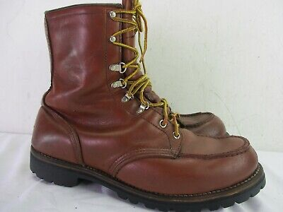 Vintage Red Wing Irish Setter Work Boots Size 10 EE USA