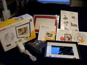 kodak easyshare p720 medium size digital photo frame 7. Black Bedroom Furniture Sets. Home Design Ideas