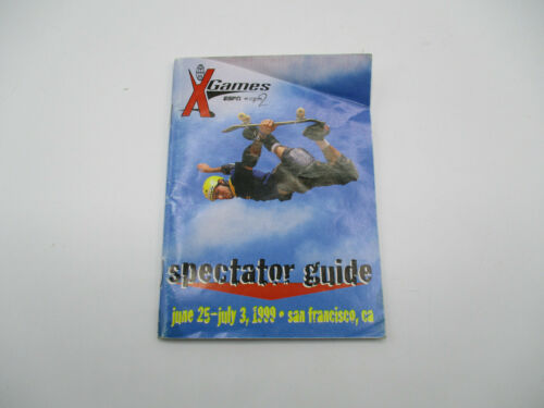 VINTAGE Xgames Spectator Guide San Francisco CA 1999 Booklet Map Schedule RARE