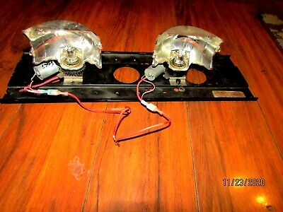 Code 3 Mx 7000 Light Bar Top Mounting Plate With Duel Rotating Lights