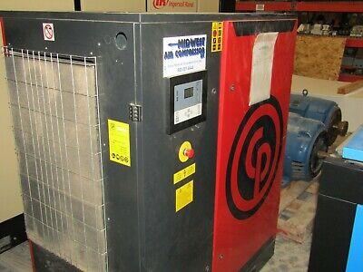 Chicago Pneumatic 35 Hp. Cpbg35 Rotary Screw Air Compressor 2015 Low Hours