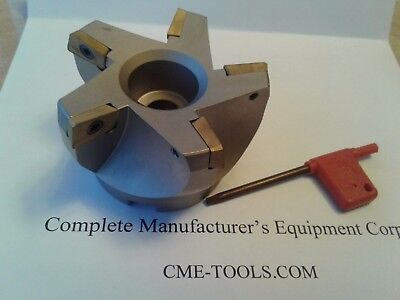3 75 Degree Indexable Face Shell Millface Milling Cutter Apkt 506-75ap-30