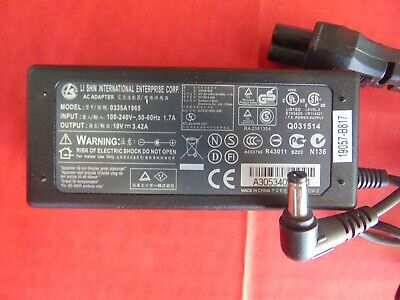 AC Power Adapter Supply LI SHIN ACER 0335A1965 For Satellite Versa Tecra Laptops for sale  Shipping to India