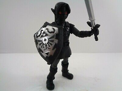 "World Of Nintendo Shadow Link 4"" Action Figure Jakks Pacific Dark Link Exclusive"