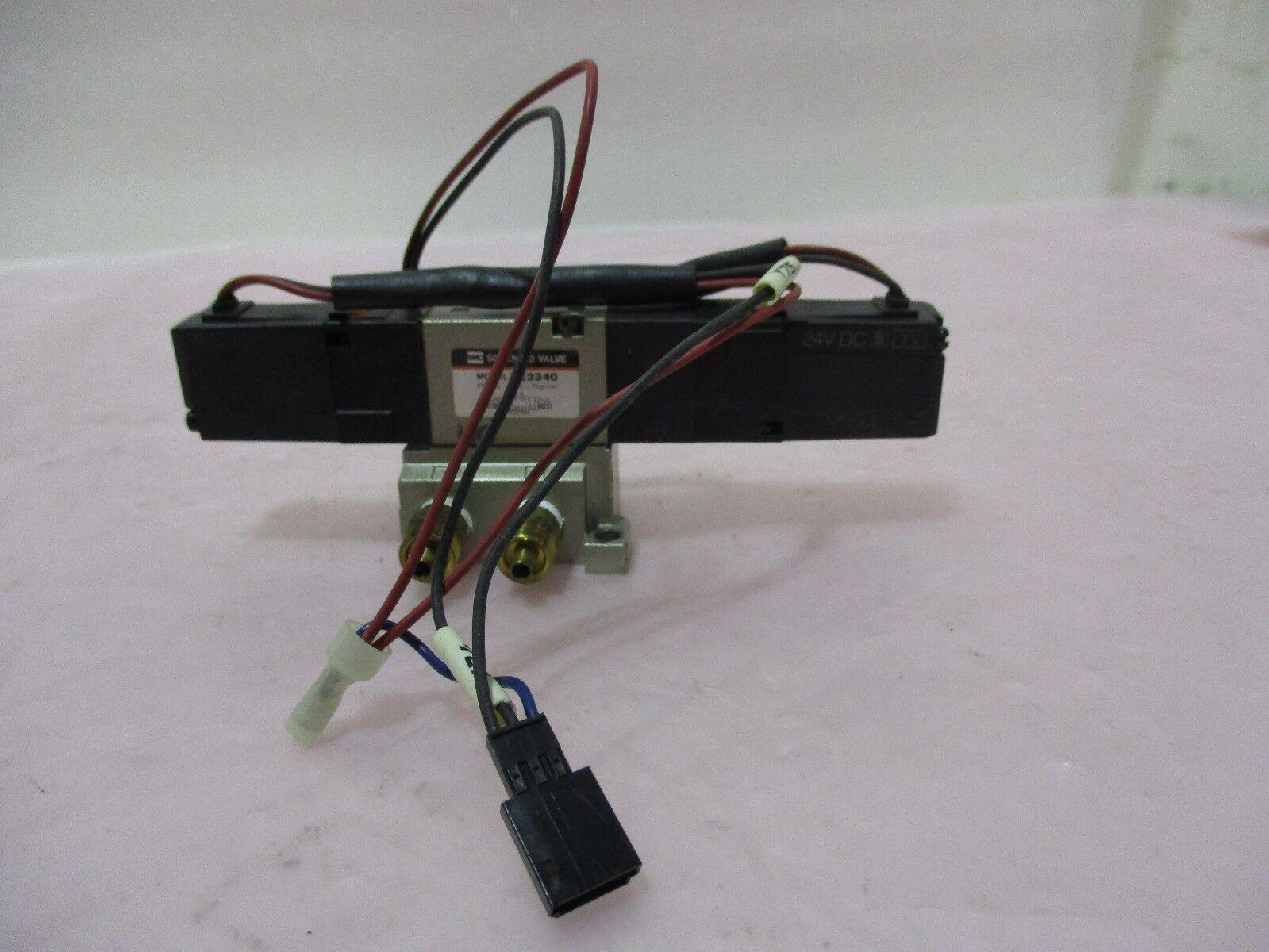SMC VZ3340 Solenoid Valve Assembly, 420394