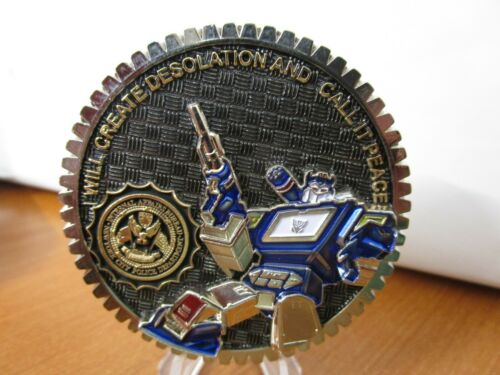NYPD IAB Internal Affairs Transformers Challenge Coin #845D