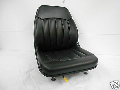 High Back Black Seat Bobcat S130s150s160s175s185s205s220skid Steer Ev