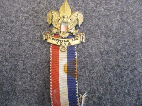 German Made 1. Wandertag BSA (Boy Scouts of America) 1976 Volksmarsch Medal