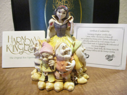 Harmony Kingdom Disney Snow White Fairest of Them All UK Made Box Figurine