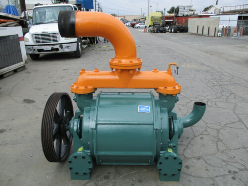 NASH MODEL CL-2001 VACUUM PUMP REMANUFACTURED IN 2010