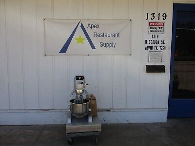 Ppm-20 Series Heavy Duty Floor Mixer 20 Qt. Bowl W3 Mixer Attachments New