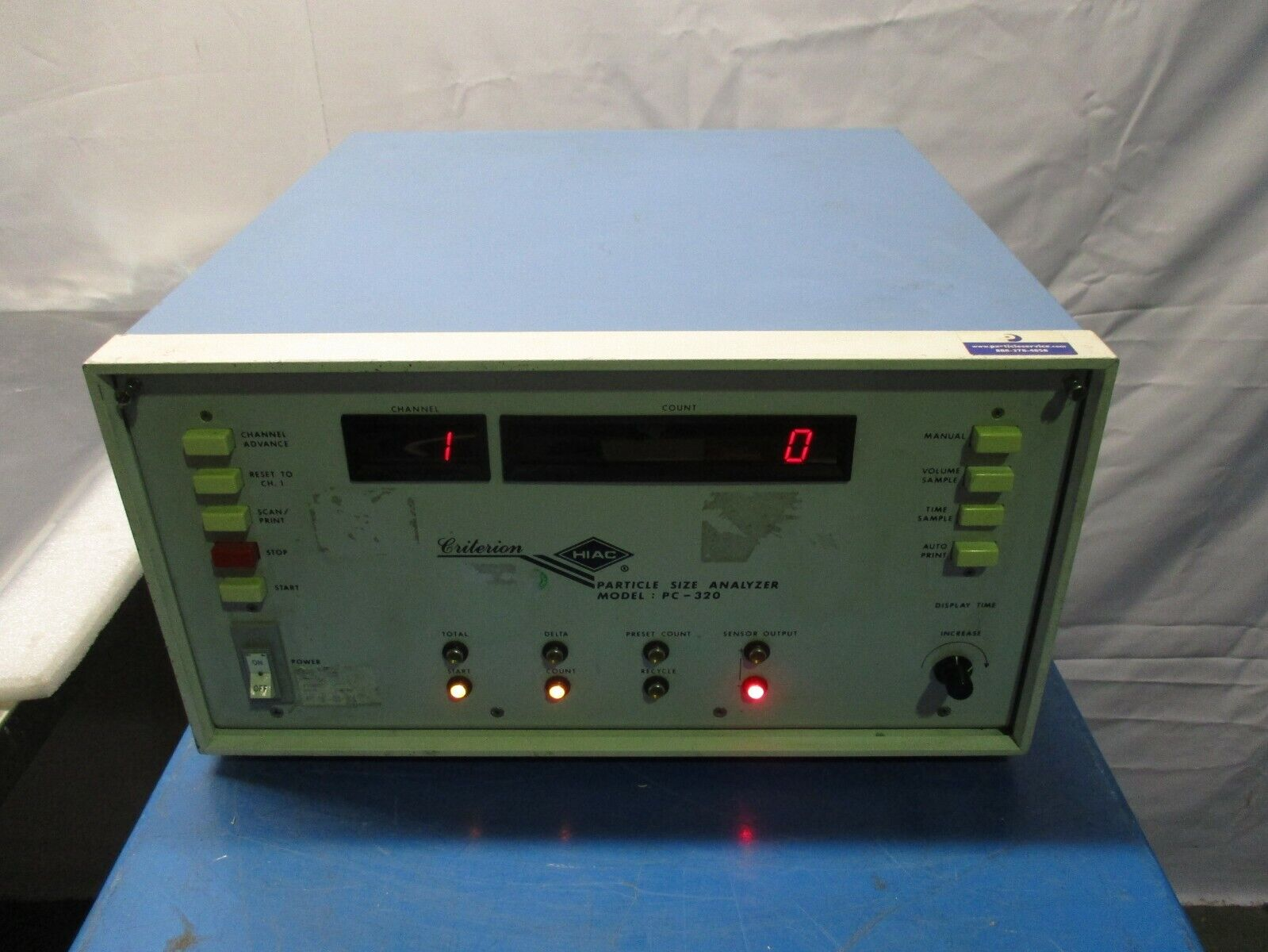 Criterion HIAC PC-320 Particle Size Analyzer, 453622