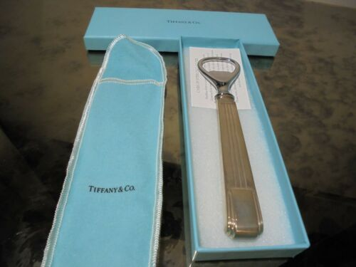 Tiffany Sterling Silver Bottle Opener