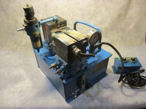 Teledyne Fluid Systems 4F21 Powerstar 4 Air/Oil Pump 1GPM 2100PSI