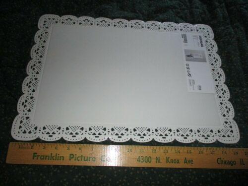 IKEA White Metal Skurar Open Lace Message Board w/ Hooks Unused Sealed 14x20
