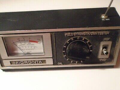 Micronta 21-525b Field Strength Svr Tester.radio Shack Benchtop