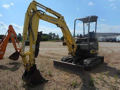 2008 Yanmar Vi035-5b Mini Excavator With Only 2404 Hours
