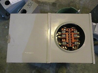 Milbank Instrument Transformer Rated Meter Socket Uc7449