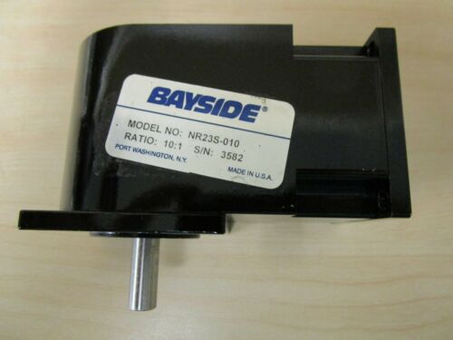 Bayside Right Angle Motor and Gearhead Model: NR23S-010 - 10:1 ratio