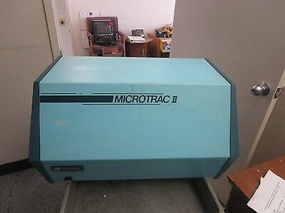 Leeds Northrup Microtrac Ii Particle Size Analyzer. Model 158704