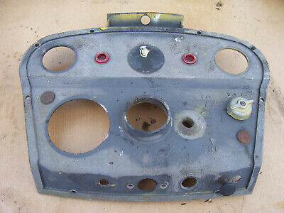 Vintage  Ihc International 2444 Tractor -dash Panel