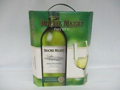 Roche Mazet Sauvignon Pays D'Oc Landwein Weißwein 3 L 12,5 % Vol. alc.