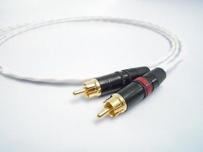 Dyson Audio QUAD 4-pin DIN Dual RCA Cable 1.25 Meter 33 34 44 303 405  for sale  Acworth