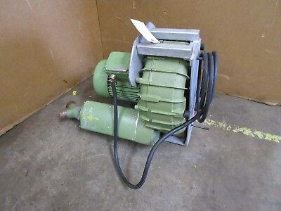 Becker Sv 5.4302 3.6kw Side Channel Vacuum Blower Pump 277480v 3ph 310mh