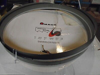 2 Count Amada Protector Band Saw Blade 22-2 X 2 X .063 Thick 3-4 Teeth