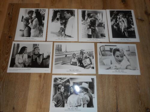 THE HOT SPOT - SET OF 8 ORIGINAL STILLS - JENNIFER CONNELLY/VIRGINIA MADSEN