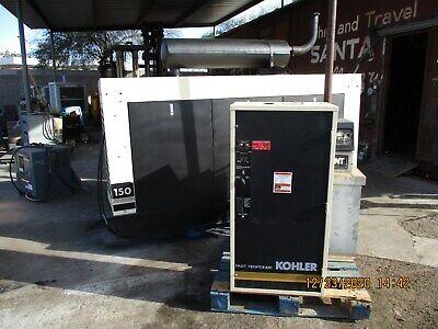 150 Kw Kohler Generator Diesel W Tank Trans Switch