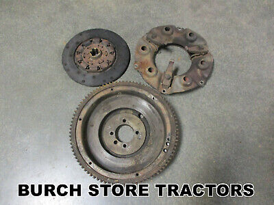 Ih Farmall Clutch Flywheel Pressure Plate 140 130 Super A 100 A B Bn