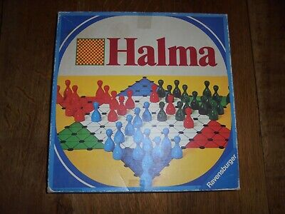 Ravensburger Halma Strategy Family Board Game Complete, used for sale  Shipping to Nigeria