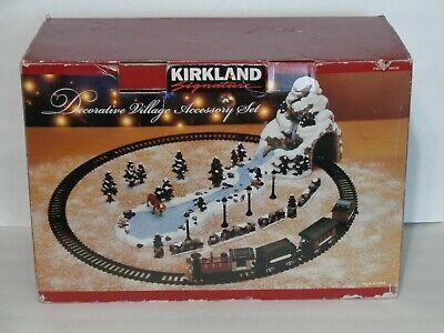 Kirkland Signature Decorative Village Accessory Train Set