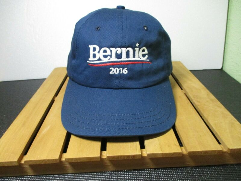 Bernie Sanders For President 2016 Baseball Hat Cap Democratic Campaign Hook Loop
