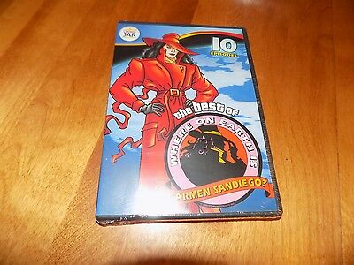 The Best of Where on Earth Is CARMEN SANDIEGO 10 Episodes Cookie DVD SEALED